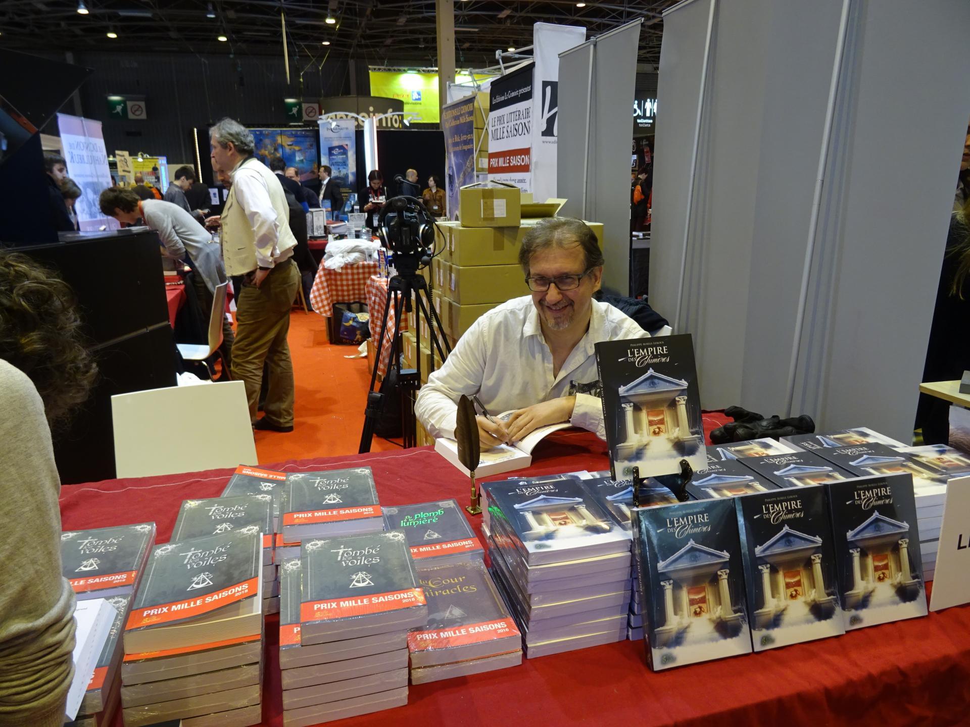 Philippe-Aurèle Leroux, auteur, vainqueur 2016