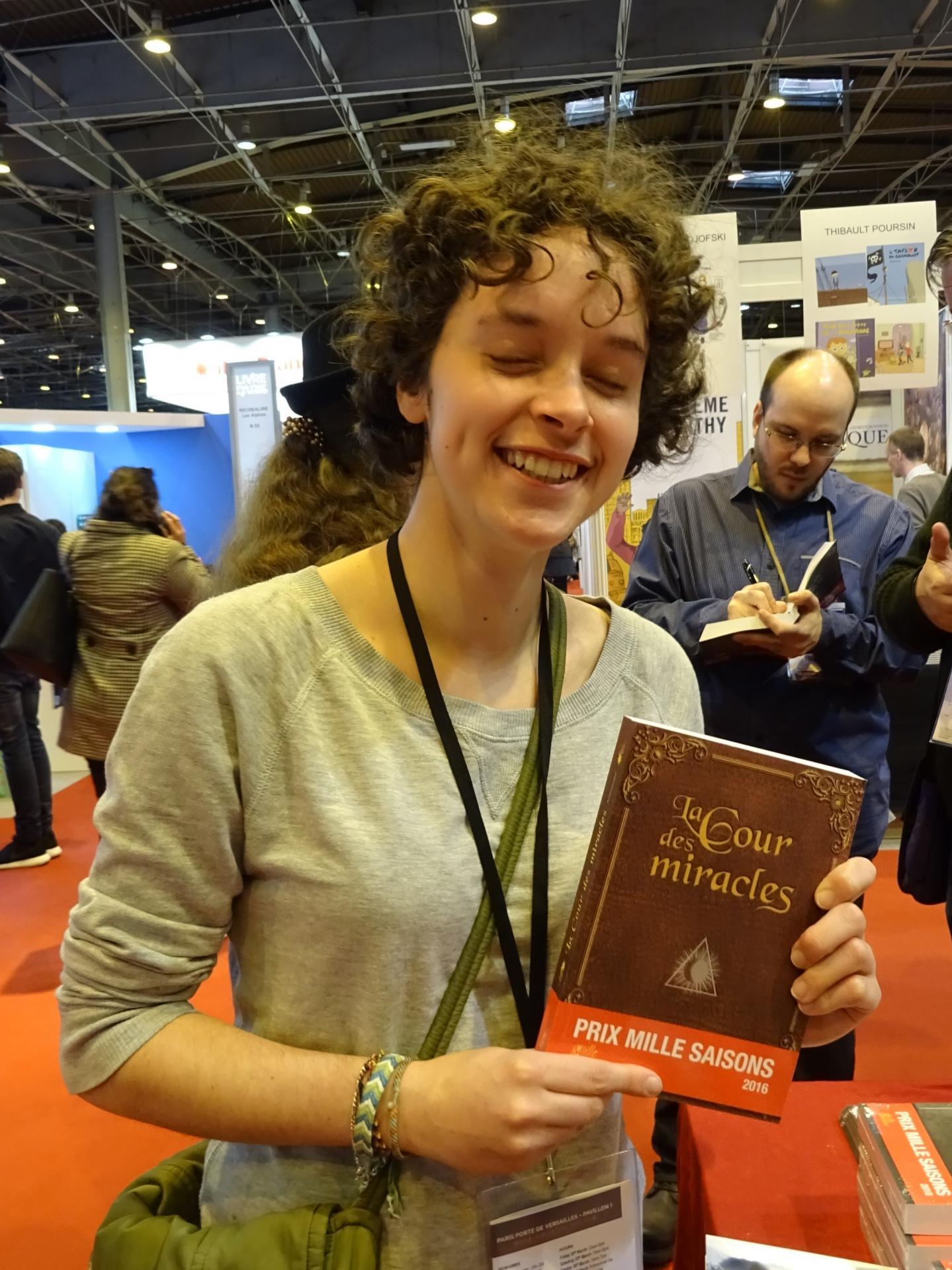 Mélaine Lagrand, autrice sur l'anthologie 2016