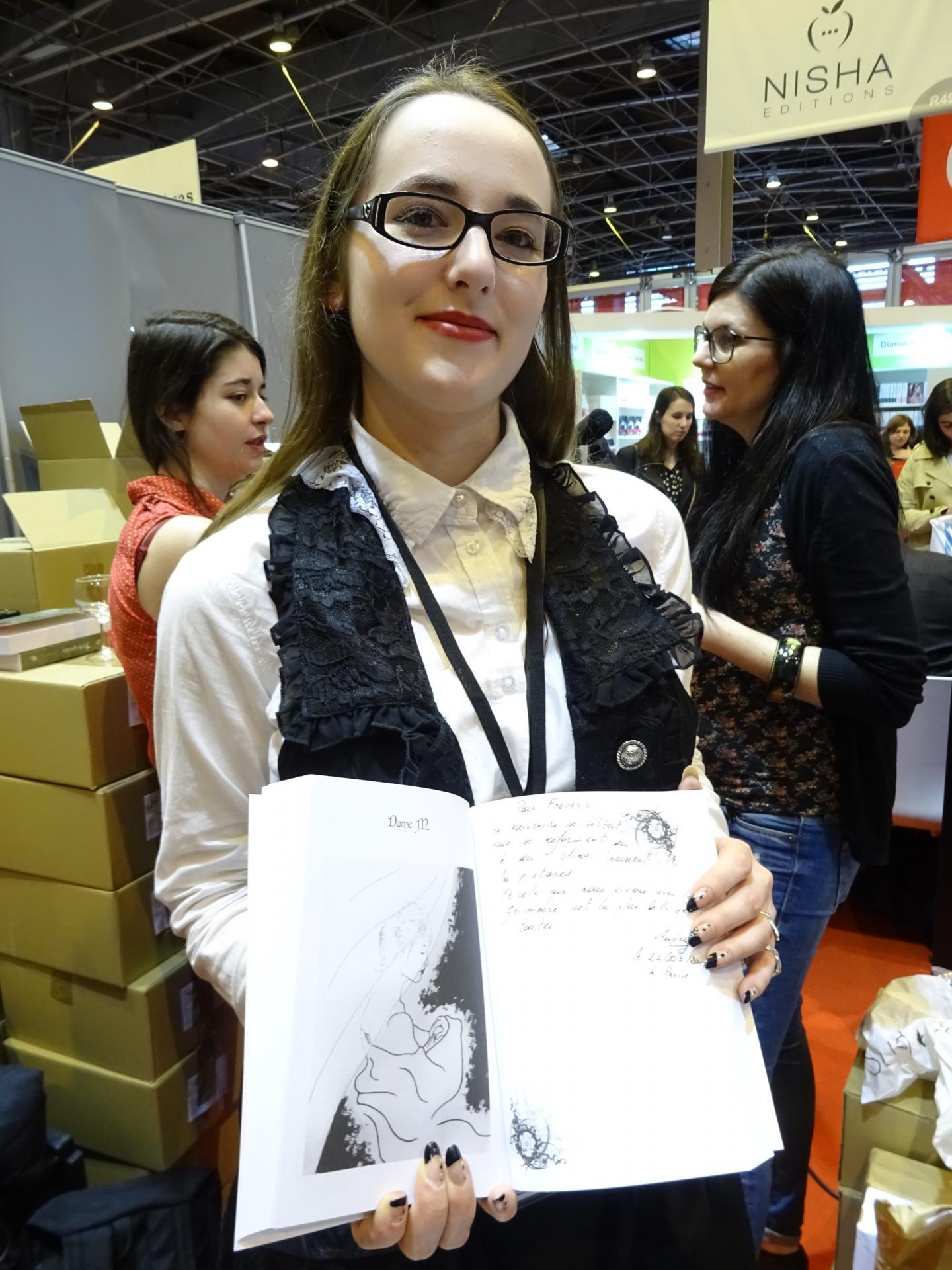 Audrey Salles, autrice