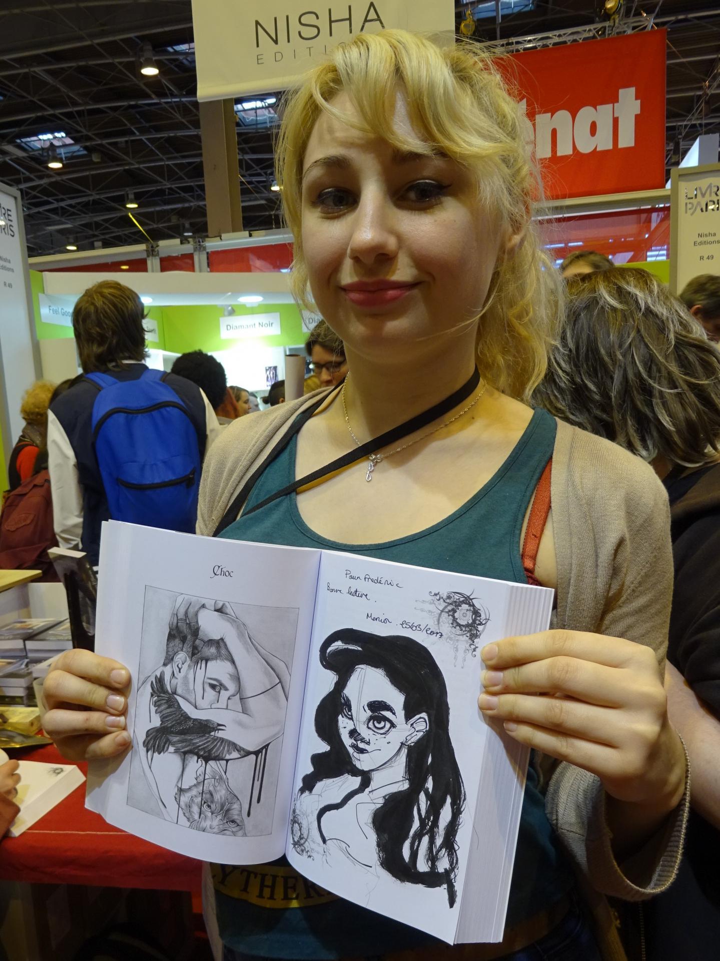 Marion Benlahoux, illustratrice